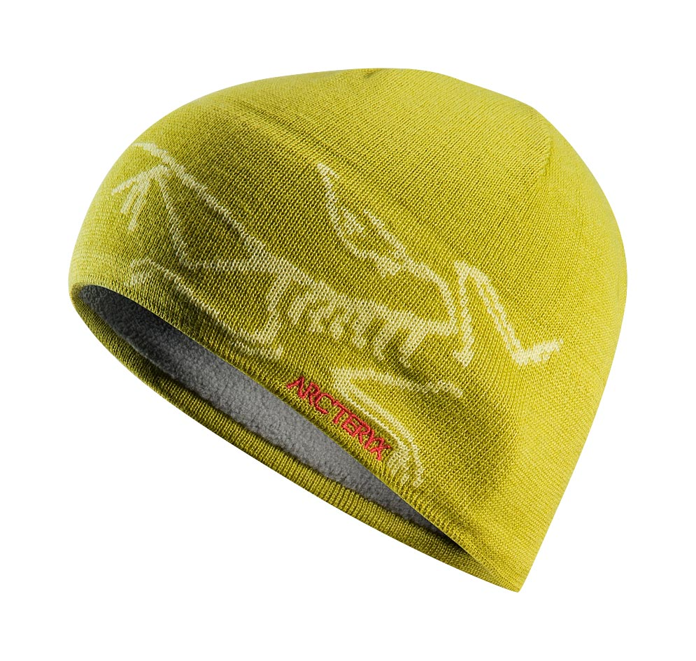 Arcteryx Chartreuse / Mellow Bird Head Toque